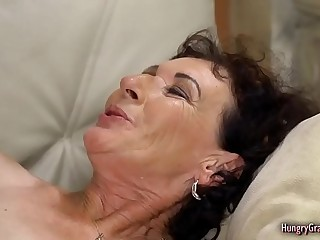 Naughty Granny Cant Stop Getting Fucked Hard