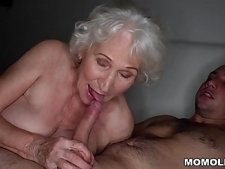 Be quiet, my husband'_s sleeping!  Best granny porn ever!