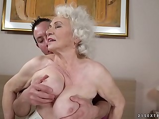 Still hot and great Norma wants a young dick