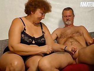 Unexperienced EURO - Deutsche Granny Heike R. Sucks And Smallish Like A Porn industry star