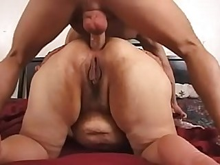 latina bbw granny hard anal queefing