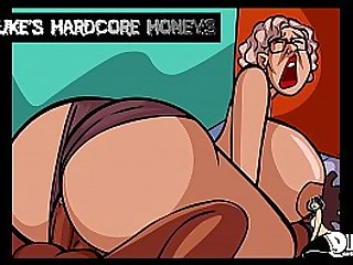Thick Ass Granny Fucked by Huge Black Cock!