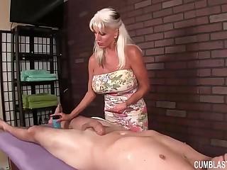 Huge-Titted Granny Hj