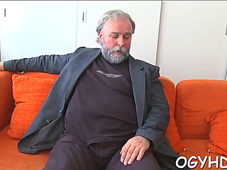 Sexy youthfull sweetheart fucked by old chap