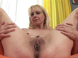 Interracial sex for aged blond Koko GoldenHaired