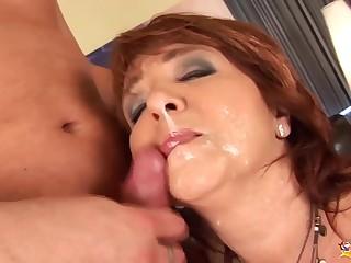 redhead curvy mom very first time anal sex