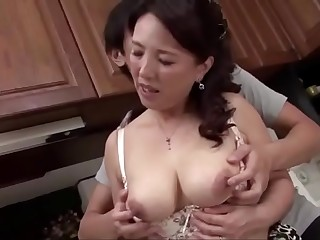 Mom And Son Japanese Love Story 3 Bashing full