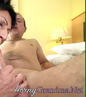 Old granny fingered and fucked
