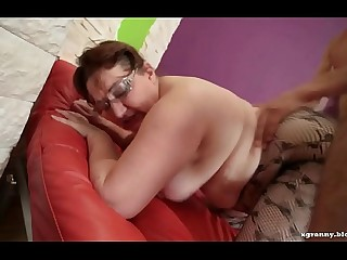 Fat nut sack mature anal hard