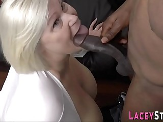 Grandmother Lacey Starr gets plowed
