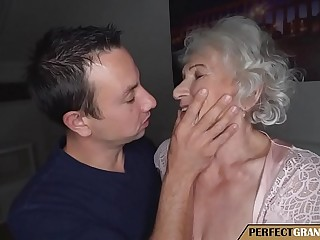 grandma cheats with young boy