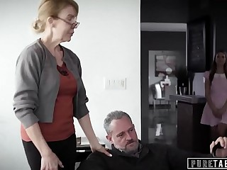PURE TABOO Delinquent Teenagers Corrupted by Pervert StepGrandpa